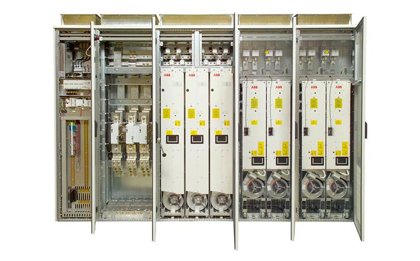 Регламентное сервисное обслуживание частотных преобразователей ABB ACS800-07